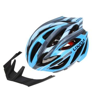 自転車用 ヘルメット サイクリング ロード ブルー