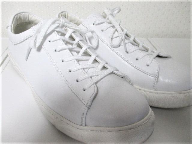 ☆グリーンレーベルリラクシング ユナイテッドアローズ スニーカー☆メンズ/27.5cm☆ホワイト < ブランドの