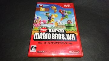Wii NewスーパーマリオブラザーズWii / 説明書無し
