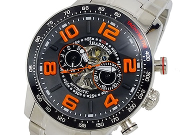 ジョンハリソン 自動巻き メンズ 腕時計JH-020BO