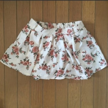 【値下げ不可】極美品!!花柄 スカート ミニスカート キュロット