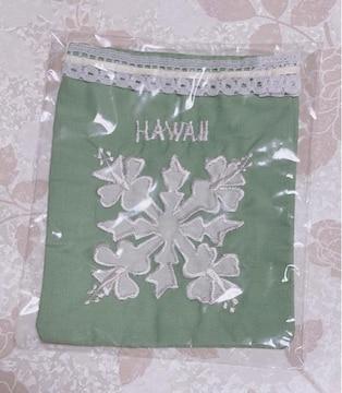 ハワイアンキルトポーチ 小物入れ 新品、未開封