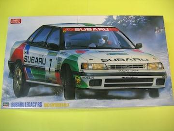 ハセガワ 1/24 スバル レガシィ RS 「1992 スウェディッシュラリー」 限定品