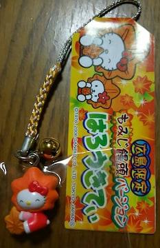 ☆広島限定 もみじ饅頭キティ 根付け 2006☆