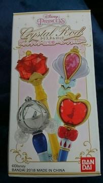 ディズニー プリンセス クリスタルロッド シンデレラ バンダイ製品 ビニール未開封 新品