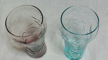 未使用新品コカ・コーラ ロンドンオリンピック記念グラス2個セット