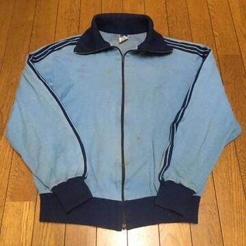 超希少ヴィンテージ アディダス ジャージ 5/M ブルー/紺
