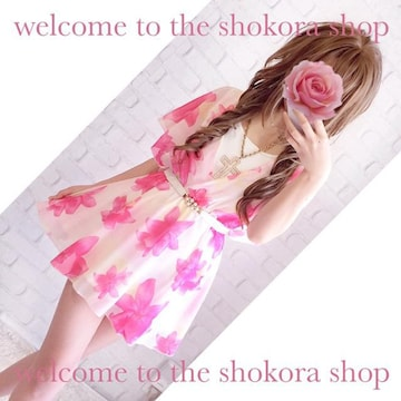 新品 ピンク 花柄 シフォン チュニック