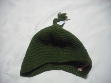 mb342 男 BILLABONG ビラボン 耳当て付き ニット帽 ビーニー