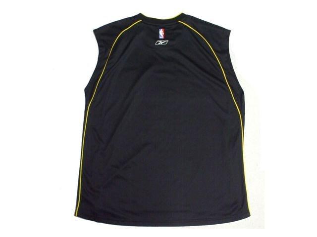 セール新品Reebokリーボック★ATLANTA HAWKS☆ゲームシャツXLブラック < 男性ファッションの
