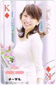 女子アナ 佐藤倫子カード
