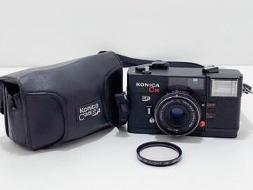 Z148 KONICA コニカ C35 EF HEXANON 38mm f2.8 フィルムカメラ