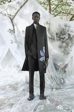20SS Dior Men ディオールメン ローズ テクニカル トレンチ コート ディオールオム