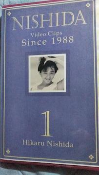 西田ひかる Video Clips  Since 1988    Vol.1