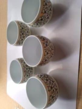 有田焼の湯呑み5客セット