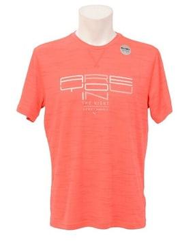 ランニング 半袖Tシャツ NIGHTCAT SS TEE メンズ レッド