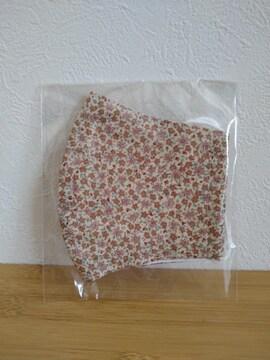 ハンドメイド 小花柄模様マスクカバー 新品