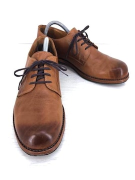 PADRONE(パドローネ)DERBY SHOESプレーントウ