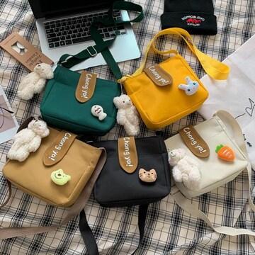 バッグ、キャンバスバッグ、 ショルダーバッグ