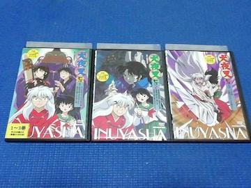 DVD 犬夜叉 七の章 全3巻 全巻セット 7の章