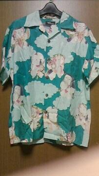 京都パゴンアロハシャツ