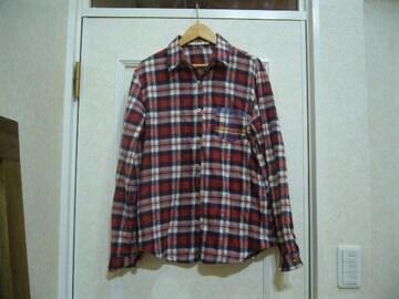 カジュアルチェック柄/長袖シャツ