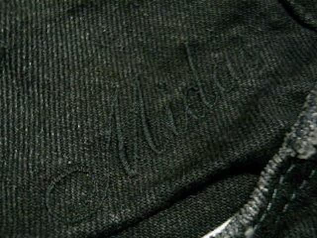 【MIDAS×LEE】コラボ♪渋谷系.メンナク.オラオラ!刺繍ブラックデニム < ブランドの