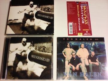 即決 初回限定盤 CD ヴァンヘイレン�V ヴァン・ヘイレン 3 / 帯付 洋楽 アルバム