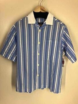 mfpen(エムエフペン)ストライプ柄 半袖シャツシャツ