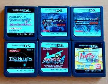 DS ソフト 6本セット RPG アドベンチャー シミュレーション