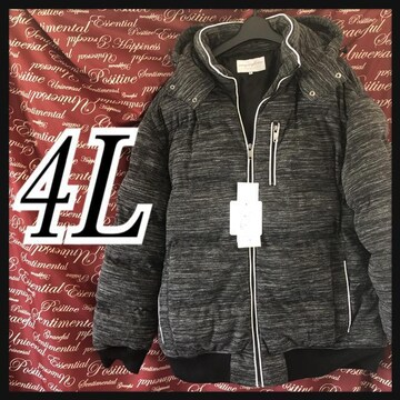 4L・中綿入りフード付きジャケット新品/MC03P-110