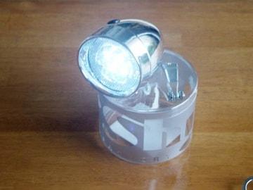 アウトレット★ODオリジナルNEW砲弾型7LEDライトCP