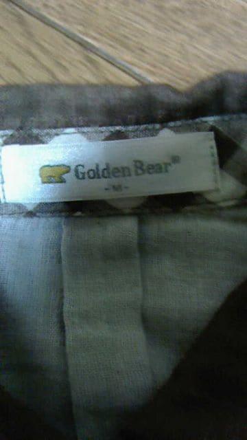 ゴールデンベアーの商品です。ガーゼ地風で肌触り抜群です。