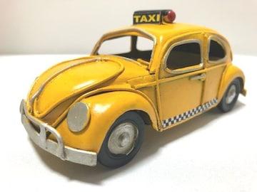 一点物ブリキのおもちゃシリーズ�Gワーゲンタクシー風ブリキ