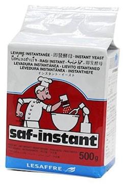 サイズ500g サフ インスタントドライイースト (低糖パン用赤ラ