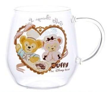 ダッフィー&シェリーメイ 耐熱ガラスマグカップ スウィート