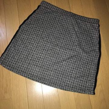 スカート ザラ ツィード柄 M
