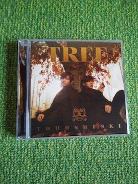☆東方神起☆TREE★CD+DVD(初回盤)♪