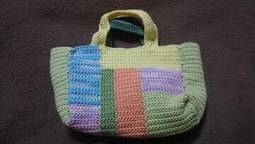 手編みのミニミニバッグ