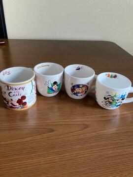 Disney  記念 マグカップ 4点