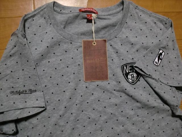 ミッチェル&ネス NBA ブルックリンネッツ Tシャツワンピ S < 女性ファッションの