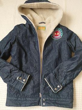 ☆ BETTY'S BLUE デニムボアアウタージャケット☆9号