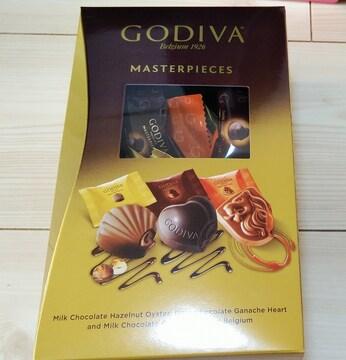 お試し★GODIVA ゴディバ マスターピース チョコレート 3種6個