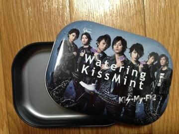 新品キスマイフットツーkis-my-ft2ウォータリングキスミント缶