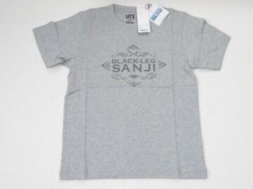 UNIQLO ONE PIECE サンジ 半袖Tシャツ グレー XSサイズ