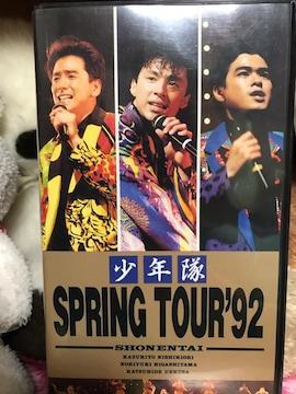 少年隊 Spring tour92+切り抜き 送料込み