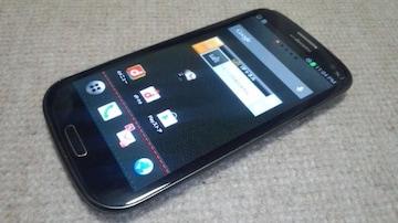 即落/即発!!美中古品 SC-03E Galaxy S3 α ブラック LTE Xi