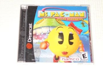 DC★MS.PAC-MAN MAZE MADNESS 海外版