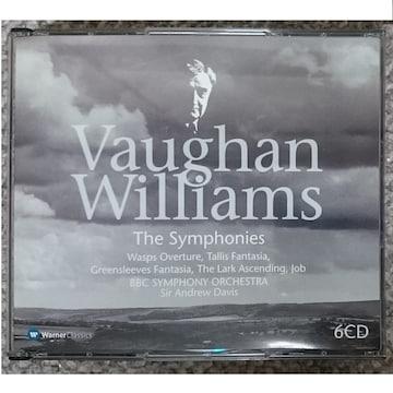 MF  ヴォーン・ウィリアムズ 交響曲全集 揚げひばり 他 6CD