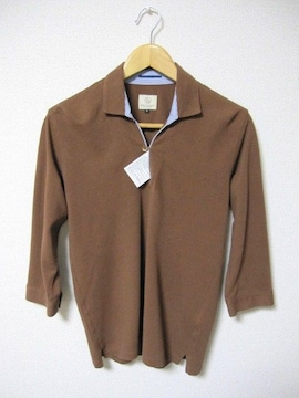 □ユナイテッドアローズ 七分袖 ポロシャツ/メンズS☆新品